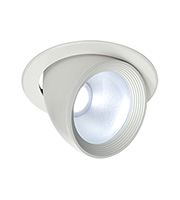 Saxby Lighting Form 20W COB LED Downlight (Satin White)