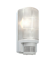 Saxby Lighting Motion IP44 60W PIR Bulkhead (Gloss White)