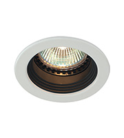 Saxby Lighting Retracto Fixed Anti Glare 50W Downlight (White)