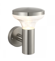 Saxby Lighting Roko 3.5W IP44 LED Wall Light (Brushed Stainless) SALE