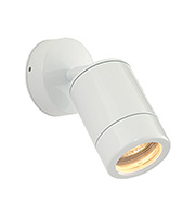 Saxby Lighting Odyssey Spot IP44 35W Wall Light (Gloss White)