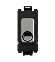 Schneider Electric GET Ultimate Grid Flex Outlet Module (Black Nickel)