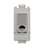 Schneider Electric GET Ultimate Grid Flex Outlet Module (Stainless Steel)
