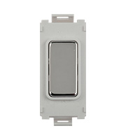 Schneider Electric GET Ultimate Grid Blank Module (Polished Chrome)