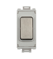 Schneider Electric GET Ultimate Grid Blank Module (Stainless Steel)
