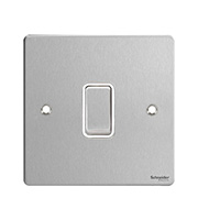 Schneider Electric GET Ultimate 1 Gang Intermediate Switch (Stainless Steel)