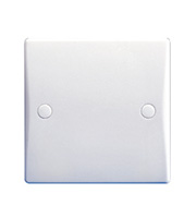 Schneider Electric GET Ultimate 25A Side Entry Flex Outlet Plate (White)