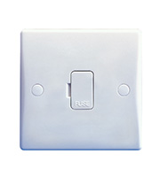 Schneider Electric GET Ultimate 13A Unswitched Fused Spur (White)