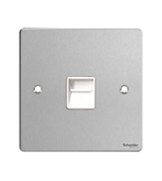 Schneider Electric Flat Plate Telephone Secondary (Stainless Steel)