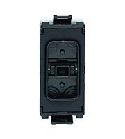 Schneider Electric Ultimate Grid Intermediate Switch Component Module (Black)
