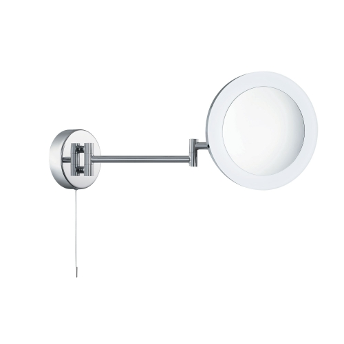 Searchlight Ip44 Chrome Illuminated Adjustable Bathroom Mirror