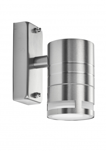Searchlight Led Outdoor & Porch (gu10 Led) - 1 Light Wall Bracket, Stainless Steel