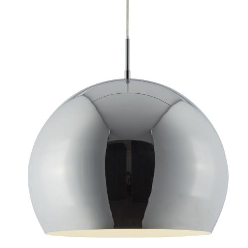 Searchlight Domas 1 Light Chrome Ball (40cm Dia)