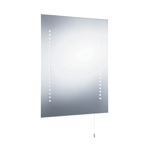 Searchlight Bathroom Light Led Mirror, Battery Operated