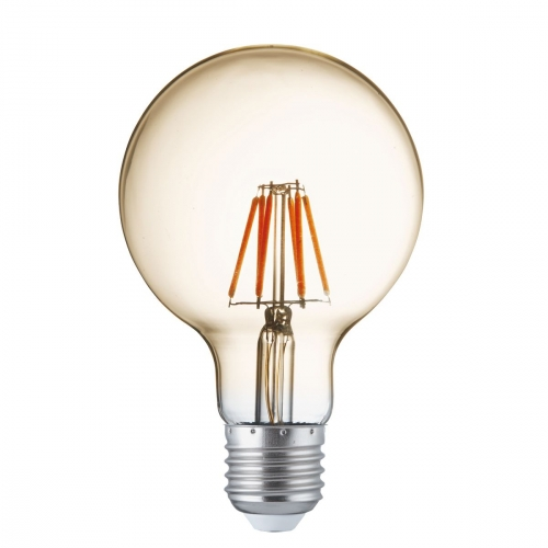 Searchlight Led Filament Bulbs E27 - 4w, Warm White (pack Of 5)