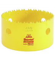 Starrett 105mm Fast Cut Bi Metal Hole Saw (Yellow)