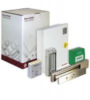Securefast Deedlock Single Door Proximity Access Control Kit with Mini Electro-Magnet Lock (White)