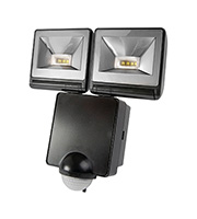 Timeguard 2 x 8W Energy Saver LED PIR Floodlight (Black)