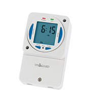 Timeguard 24 Hour Slimline Electronic Time Switch (White)