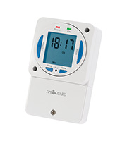 Timeguard 7 Day Slimline Electronic Time Switch (White)