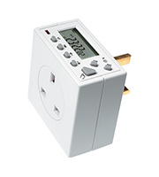 Timeguard 7 Day Compact Electronic Time Switch (White)