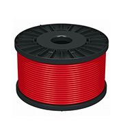 Prysmian100m 1.5mm 2 Core Fire Performance Cable (Red)