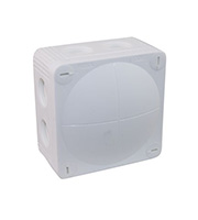 Wiska Combi Waterproof Junction Box (Grey)