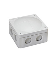 Wiska 607/5 Combi Waterproof Junction Box (Grey)
